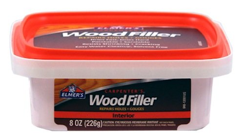 Elmer's E848D12 Carpenter's Wood Filler 1/2-Pint - 1
