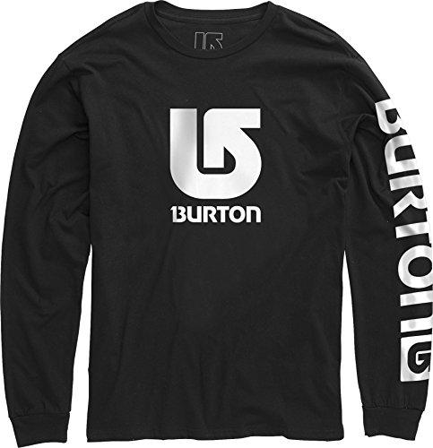 Burton Maglietta a maniche lunghe LGO Vertical a maniche lunghe Ragazzo, Ragazzo, Langarmshirt LGO Vertical Long Sleeve, nero, M