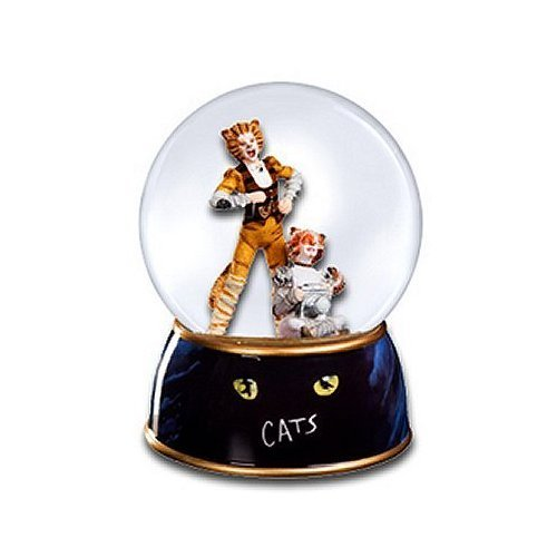 Cats - Skimbleshanks Water Globe ( San Francisco Music Box Co.)