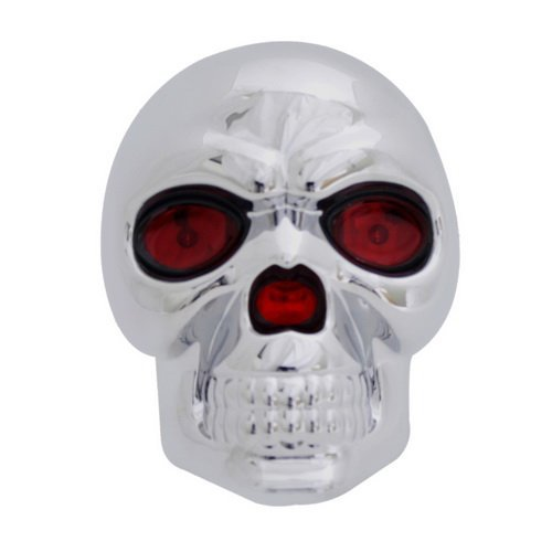 Hitch Cover, LED Novelty Trailer Tow Hitch Covers Made by ABS plastic (LED Skull) (Led Tow Hitch Cover compare prices)
