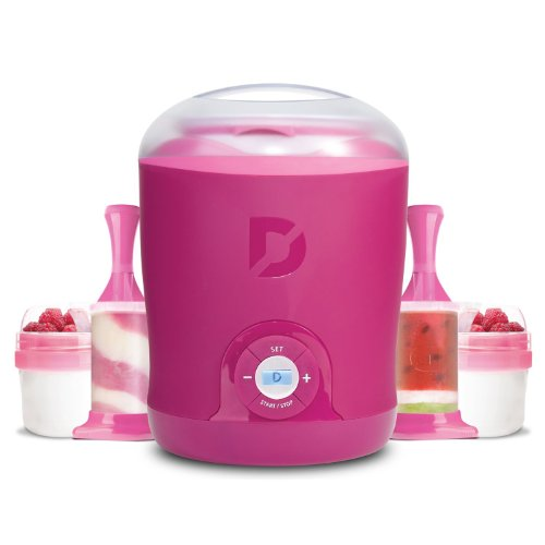 Dash Greek Yogurt Maker Bonus Pack eco friendly convenience automatic yogurt maker machine 15w 1l