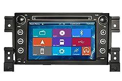 See Crusade Car DVD Player for Suzuki Grand Vitara 2005-2014 Support 3g,1080p,iphone 6s/5s,external Mic,usb/sd/gps/fm/am Radio 7 Inch Hd Touch Screen Stereo Navigation System+ Reverse Car Rear Camara + Free Map Details