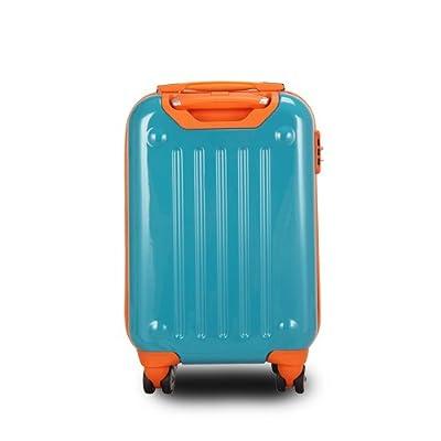 "JLY 4 Wheel Hard Shell Luggage Travel Trolley Suitcase 20""/24""/28"" Sizes 2127"