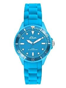 s.Oliver Unisex-Armbanduhr Small Size Silikon blau SO-2312-PQ
