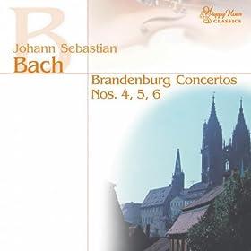 Brandenburg Concertos Nos. 4, 5 & 6 (Bach)
