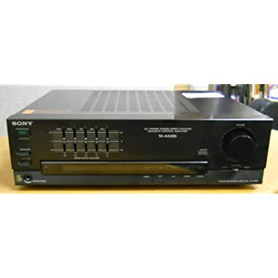 Amazon.com: Sony TA-AX285 Integrated Stereo Amplifier 1/4 Headphones