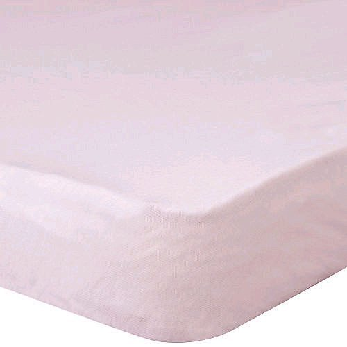 Gerber Knit Crib Sheet - Pink - 1