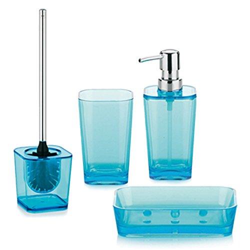 Kela set accessori bagno in polistirene 4 pz 390055 - Accessori bagno amazon ...