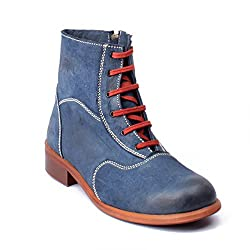 Willywinkies Mens Boots - Blue Color - 706 - 6