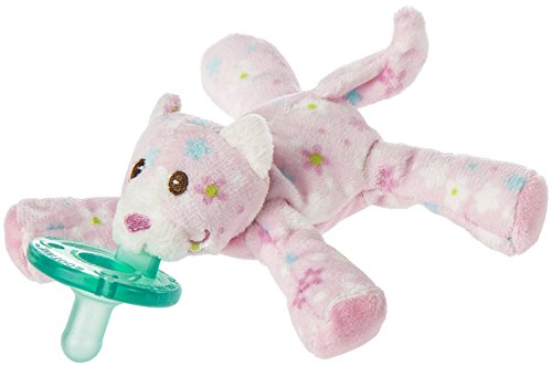 Mary Meyer LITTLE NUZZLES KITTY WUBBANUB w Attached Soothie Pacifier