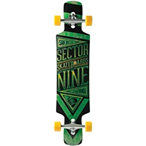 Sector 9 Slingshot 40.5 Platinum Drop Through Complete Longboard by Sector 9