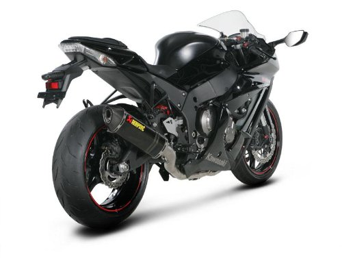 Akrapovic Evolution Exhaust with Hexagonal Muffler - Full System/Carbon Fiber