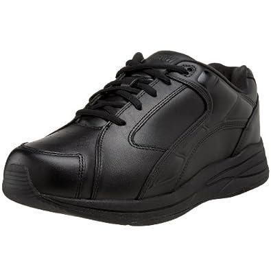 Drew Shoe Men's Force Athletic Walking Shoe,Black,7 M US
