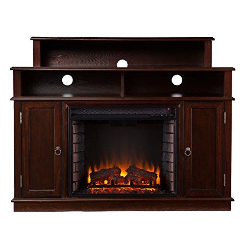 Southern Enterprises Amz1939Fe Lennon Media Console/Stand Electric Fireplace, Espresso