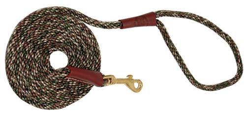 Mendota Products Dog Snap Leash, Camo, 1/2-Inch x 6-Feet