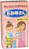 森永ペプチドミルク Eお母さん ミルクティー風味 18g*12本入