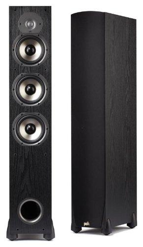 Find Discount Polk Audio Monitor 65T Three-Way Ported Floorstanding Speaker (Single, Black)