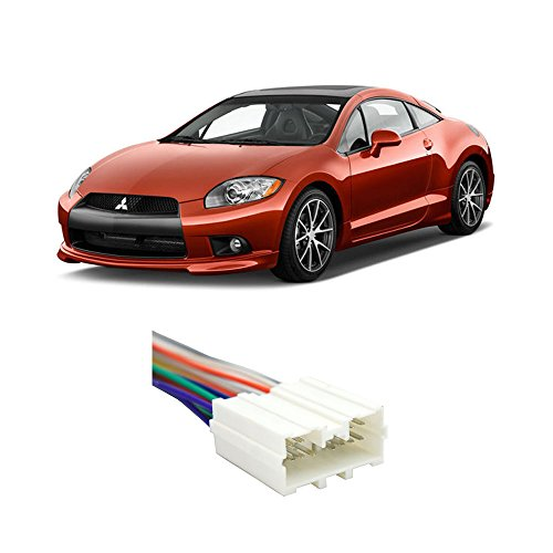 Mitsubishi Eclipse 1995-2012 Factory Stereo to Aftermarket Radio Harness Adapter (Eclipse Harness compare prices)