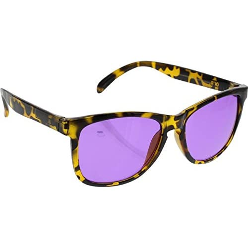 ce06a716e3ddc Happy Hour Picadilly Tort Black Yellow Purple Sunglasses