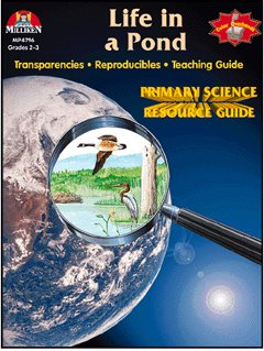 Life in a Pond: Transparency Guides - 1