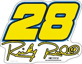 Ricky Rudd #28 12 Car Magnet by Caseys
