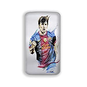 Mott2 Messi Back cover for Nexus 6 (Limited Time Offers,Please Check the Details Below)