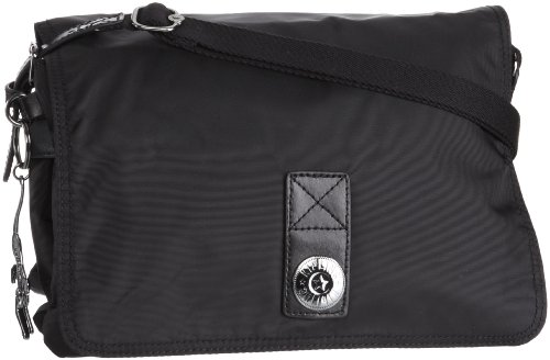 Kipling Women's Aella Shoulder Bag Neon Black K24587931
