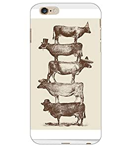 APPLE IPHONE 6 PLUS BUFFALOES Back Cover by PRINTSWAG