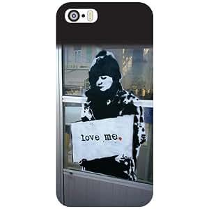 Apple iPhone 5S Back Cover - Love Me Designer Cases