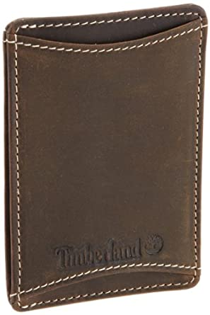 Timberland Men's Mt. Washington Double Front Pocket Wallet, Brown, One Size
