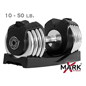 XMarks Adjustable Dumbbells