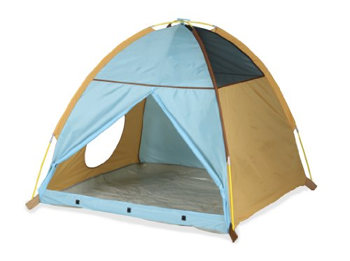 Pacific Play My Little Tent-Tan, Brown, Blue front-1008929