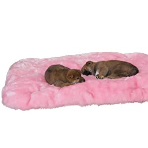 Slumber Pet Cloud Cushion Dog Bed, Medium, Pink