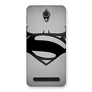 Delighted Grey Vs Back Case Cover for Zenfone Go