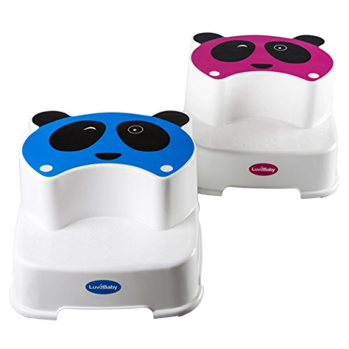 Baby-Doppelstufen-Schemel-Der-Zwinkernde-Panda-Kinder-Tritthocker-Perfekt-fr-Kinder-Badezimmer-oder-Kleinkind-Toiletten-Training