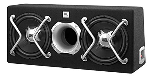 JBL-GT5-2402BR-Auto-Hifi-Bassreflex-Subwoofer-Gehuse-300mm-Revolutionrem-Slipstream-Port-schwarz