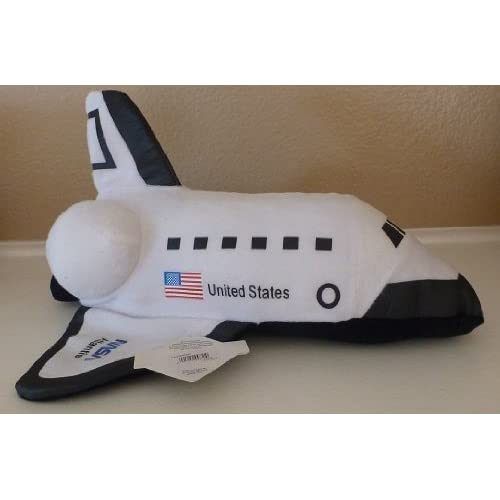 "Amazon.com: 13"" Nasa Atlantis Space Shuttle Plush Stuffed Animal Toy"