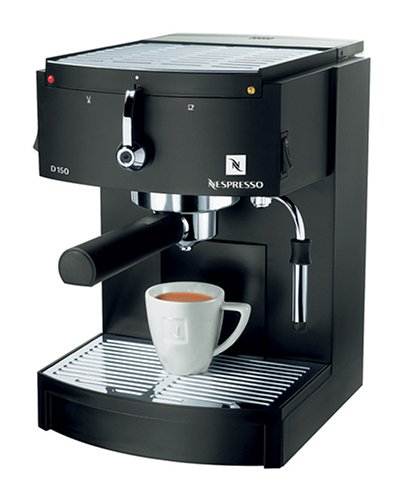 Nespresso D150 Espresso Machine, Black (19 Bar Pump Espresso compare prices)