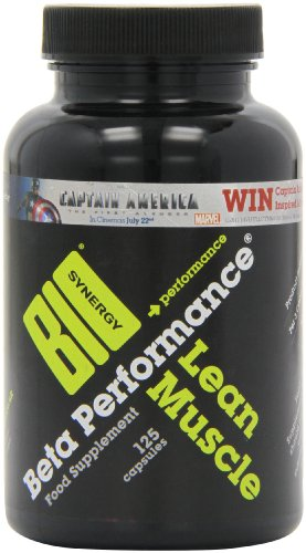 Bio-Synergy Beta Performance Lean Muscle Recovery Capsules, 125 capsules