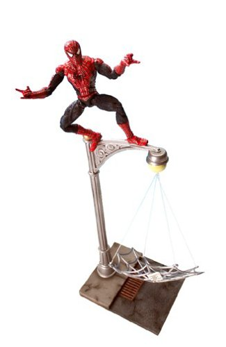 Buy Spider-Man Spider-Man 2 The Movie Web Trap Spider-Man Action Figure with Villain Trapping ActionB0000TQNSY Filter