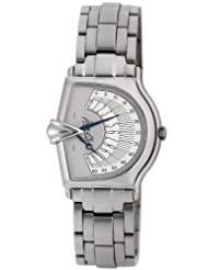 Jean D'eve Men's 065463AA.AA Sectora 2000 Grey Dial Stainless-Steel Bracelet Watch