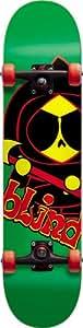 Blind Relapse Mid Complete Skateboard (Green Rasta, 7.3-Inch)