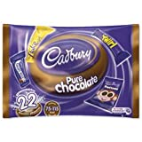 Cadbury Variety Treatsize Selection Chocolates 22 Bars in 345g Bag Ref A07034