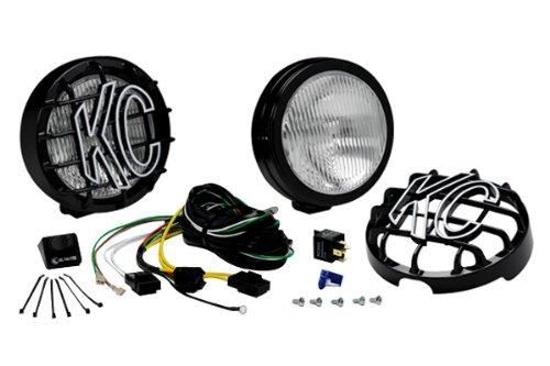 Kc Hilites 127 Slimlite Black 100W Fog Light System