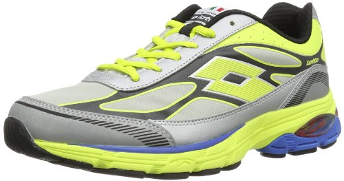 lotto-rearch-phoenix-ii-neutral-chaussures-de-running-competition-homme-gris-grau-met-sil-aca-grn-41