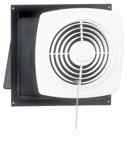 Broan 506 Chain Operated Utility Fan, 10-Inch 470 CFM 8.0 Sones (Kitchen Wall Mount Exhaust Fan compare prices)