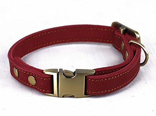 neonr-grind-arenaceous-leather-pet-collars-genuine-cowhide-leather-material-zinc-alloy-buckle-and-ge