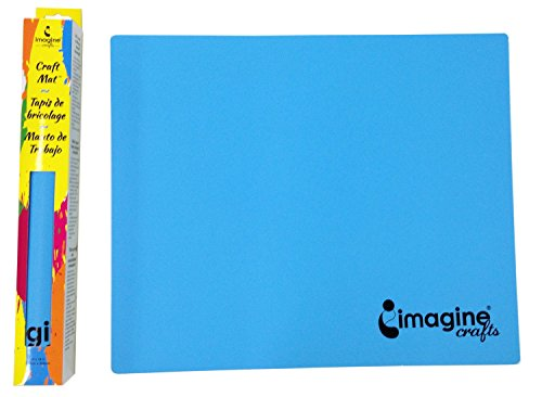 Imagine crafts craft mat blue arts entertainment hobbies for Imagine crafts craft mat