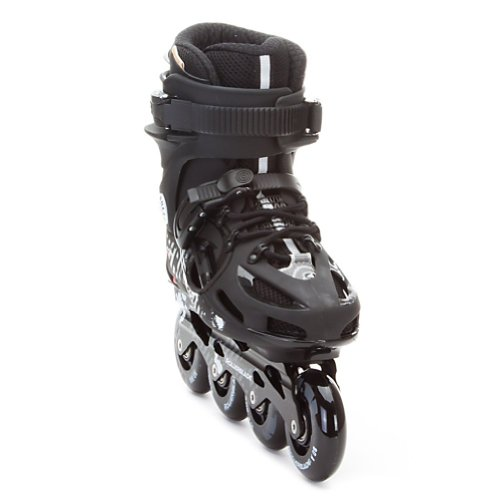 Rollerblade Men's 12 Twister 80 Urban Skate (Black/Anthracite, US Men's 9)