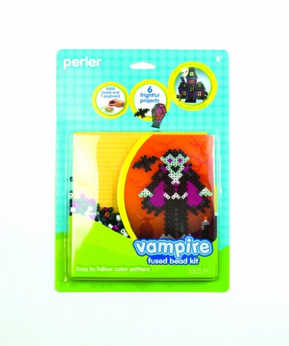 Perler Beads Vampire Fused Bead Kit